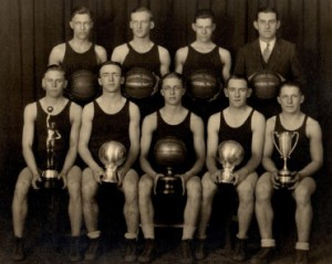 Huron 1927 team
