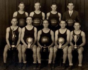 Huron 1927 team